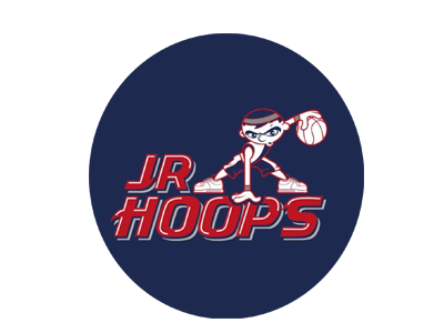 The official logo of Jr Hoops National