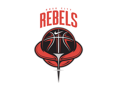The official logo of Rose City Rebels